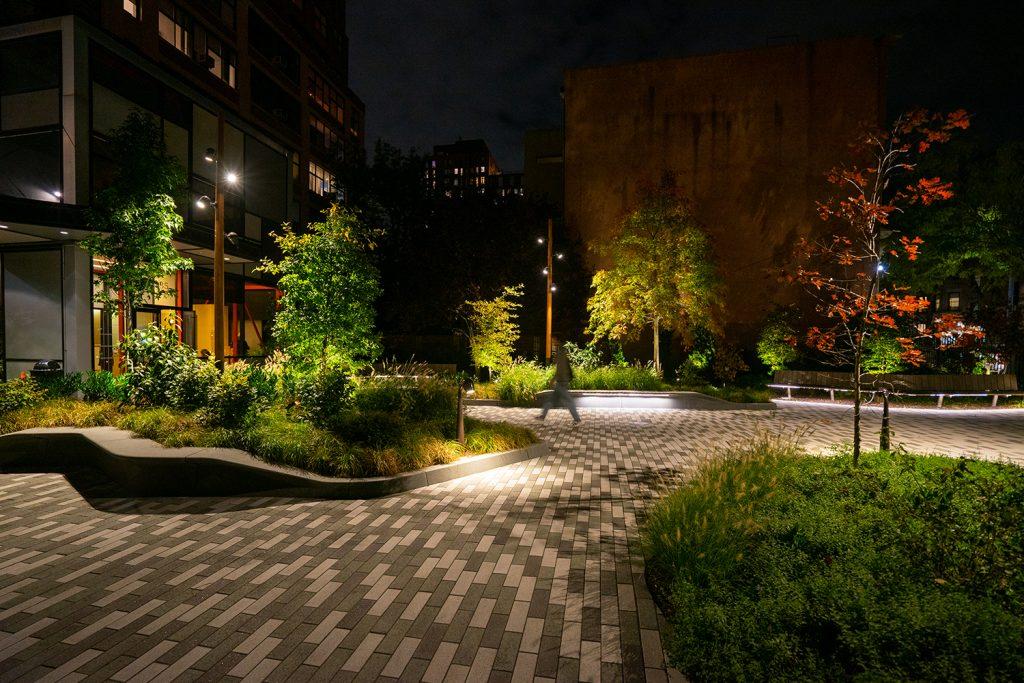 Newswalk Entry Garden