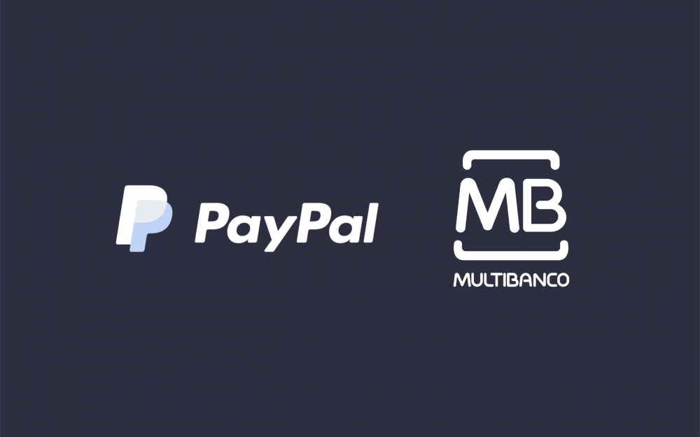 logotipos de paypal e multibanco